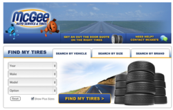 facebook tire shopping app