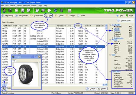 Tire-Power-Software-Search-Inventory